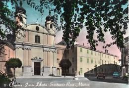 Friuli Venezia Giulia-gorizia-comons Piazza Liberta' Santuario Rosa Mistica Veduta Auto D'epoca Anni 50 - Altre Città