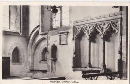 WESTWELL CHURCH INTERIOR , SEDILIA - Non Classés