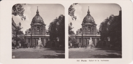 Stereofoto (photo Stéréo) 232 Paris -Eglise De La Sorbonne- - Stereoscoop