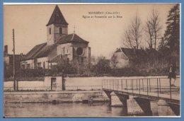 21 - MIREBEAU Sur BEZE -- Eglise Et Passerelle.... - Mirebeau