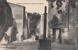 CPA - Cazouls D'Hérault - Place De La Mairie - France