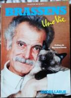 "André Larue - BRASSENS - Une Vie - Collection "" Ma Vie "" N° 7 -  Éditions IGE - Kino/Fernsehen"