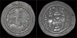 Sasanian Kingdom Khusru I AR Drachm - Greche