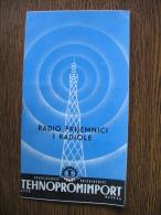 RADIO PRIJEMNICI I RADIOLE TEHNOPROMIMPORT MOSKVA - Werbung