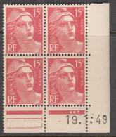 N° 813 - X X - Daté 19/01/49 - Ecken (Datum)