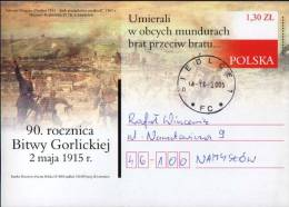 Poland Pologne, WWI, Battle Of Gorlice 1915, Prussian Grenadiers, 2005. - 1. Weltkrieg