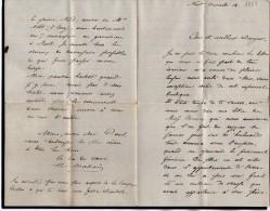 VP1779 - Commune De PARIS -  Lettre De Mr MAHOU à NIORT - Récit - Historical Documents