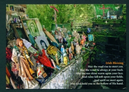 IRELAND  -  Saint Brigid's Holy Well  Liscannon  Used Postcard As Scans - Clare