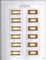 ATM 112 + 113 Phileuro 2004 Volledige Sets S5 Postfris - Vignettes D'affranchissement