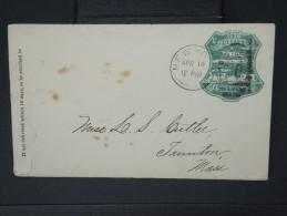 ETATS UNIS- Entier Postal ( Enveloppe) De New York  Trés Joli A Voir              1876   LOT P5046