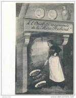 50 MONT SAINT MICHEL A L OMELETTE RENOMMEE DE LA MERE POUBLARD CPA BON ETAT - Le Mont Saint Michel