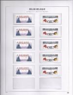 ATM 118 Europhila 2007 + 119 New Franking - Brussel Volledige Sets S9 Postfris - Vignettes D'affranchissement