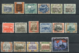 SG 53-69 ** - Landschaftsbilder (I) 1921 - 1920-35 Saargebiet – Abstimmungsgebiet