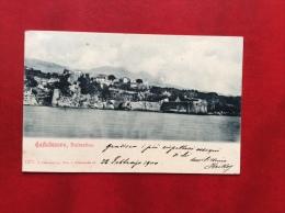 MONTENEGRO -  CASTELNUOVO  - DALMATIEN - ANNULLO CASTELNUOVO PRESSO CATTARO - VIAGGIATA A BOLOGNA NEL 1900 - Montenegro