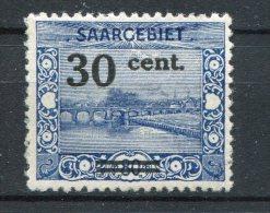 SG 76 ** - Landschaftsbilder (II) 1921 - 1920-35 Saargebiet – Abstimmungsgebiet