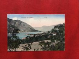 MONTENEGRO - DOBROTA BEI  CATTARO - VIAGGIATA IN UNGHERIA  1918  CON CENSURA MILITARE DI CASTELNUOVO - Montenegro