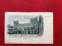 SLOVENIA - CAPODISTRIA - MUNICIPIO - VIAGGIATA A TORINO 1900  -  EDITORE STENGEL -  DRESDEN - Slovenia
