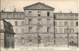 PARIS  VIIe  -  Institut  National  Des  Jeunes  Aveugles - Distrito: 07