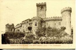 N°6721A -cpa Château De Castenau Près Bretenoux- - Bretenoux