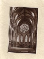 """54072    Regno  Unito,  South Transept & Bishop""""s Eye,  Lincoln Cathedral,  VG  1937 - Lincoln"""