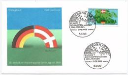 Allemagne RFA 1985 1073 FDC �mission commune Danemark D�claration Bonn Copenhague