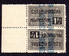 Algérie Colis Postal N°14a  TETE BECHE N** LUXE Cote 50 Euros  !!!RARE - Parcel Post