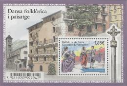 Andorra (French Adm.), Dance Of Santa Anna, 2014, MNH VF - French Andorra