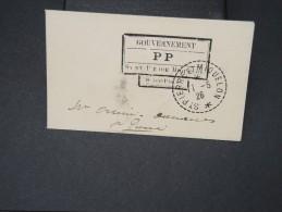 SAINT PIERRE ET MIQUELON- Port Payé De St Pierre Pour St Pierre En 1926 Sur Petite Enveloppe Carte De Visite  LOT P5087 - Lettres & Documents