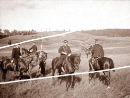 SOLDATS BELGES  1914 TIRAGE D APRES PLAQUE  PHOTO PROFESSIONELLE - War 1914-18