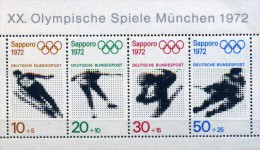 ALLEMAGNE FEDERALE 1971 - BLOC YVERT N° BF5 NEUF LUXE **MNH - [7] Federal Republic