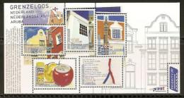 Antillen / Antilles 2008 Grenzeloos Joint Issue With Aruba And Netherlands MNH - Antillen