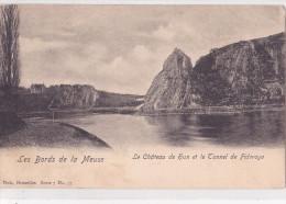 HUN : Le Château Et Le Tunnel De Fidevoye - Yvoir