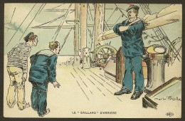 """Marine Humour Le """"Gaillard""""d'Arrière (ELD) - Illustrateurs & Photographes"""