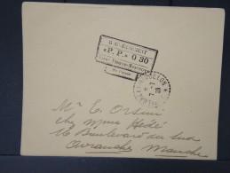 ST PIERRE ET MIQUELON- P P 0.30  De St Pierre En 1926  Pour La France à Voir LOT P5104 - Lettres & Documents
