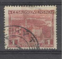 Tschechoslowakei 1928 Mi. 271 Gest. Schloss Hluboka (Frauenberg) - Czechoslovakia