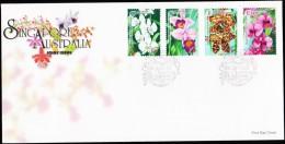 1998. SINGAPORE AUSTRALIAN JIONT ISUE. FDC 6 AUGUST 1998.  (Michel: 902-906) - JF127046 - Singapore (1959-...)