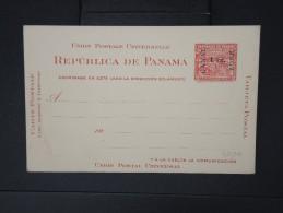 PANAMA -CANAL ZONE-Entier Postal Du Panama Surchagé   Non Voyagé ( Légère Froissure)     à Voir LOT P5109 - Panama