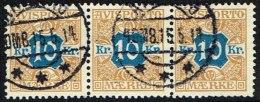 1907. Newspaper Stamps. 10 Kr. Brown/blue Wmk. Crown. 3-stripe 15. 5. 14. (Michel: V10X) - JF157879 - Non Classés