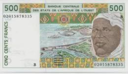 WEST AFRICAN STATES P. 210Bn 500 F 2002 UNC - Bénin