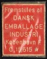 Fremstilles Af DANSK EMBALLAGE INDUSTRI 1 øre.  (Michel: ) - JF163930 - Danemark