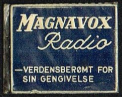 MAGNAVOX Radio 1 øre.  (Michel: ) - JF163922 - Danemark