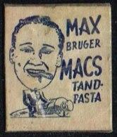 MAX BRUGER MACS TANDPASTA 1 øre.  (Michel: ) - JF163953 - Danemark