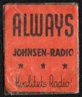 ALWAYS JOHNSEN-RADIO Kvalitets-Radio 1 øre.  (Michel: ) - JF163915 - Non Classés
