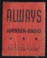 AlWAYS JOHNSEN-RADIO Kvalitets-Radio 1 øre.  (Michel: ) - JF163950 - Danemark