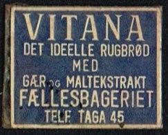 VITANA DET IDELLE RUGBRØD MED GÆR OG MALTEKSTRAKT 1 øre.  (Michel: ) - JF163946 - Danemark