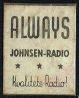 ALWAYS JOHNSEN-RADIO Kvalitets-Radio 1 øre.  (Michel: ) - JF163951 - Danemark