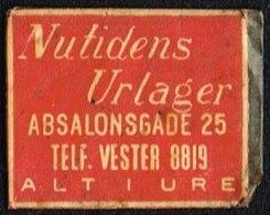 Nutidens Urlager ABSALONSGADE 25 1 øre.  (Michel: ) - JF163927 - Danemark