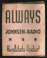 ALWAYS JOHNSEN-RADIO Kvalitets-Radio 1 øre.  (Michel: ) - JF163917 - Non Classés
