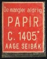 De Mangler Aldrig PAPIR C. 1405 1 øre.  (Michel: ) - JF163936 - Danemark