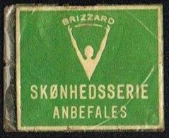 BRIZZARD SKØNHEDSSERIE ANBEFALES 1 øre.  (Michel: ) - JF163940 - Danemark